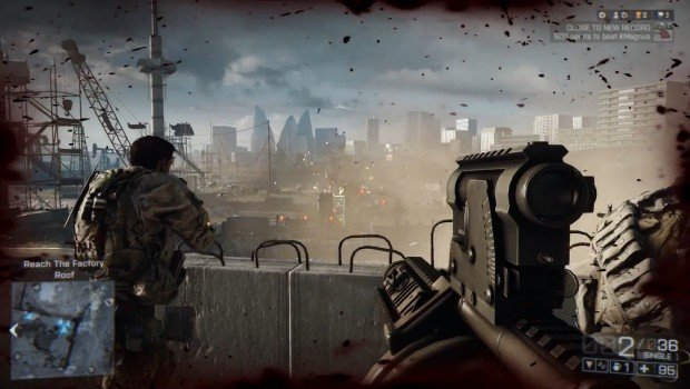 Battlefield 4 Gameplay Reveal Trailer explosive action squad command grenade launcher