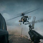 Battlefield 4 Gameplay Reveal Trailer explosive action attack helicopter versus grenade launcher