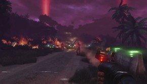 Far Cry 3 Blood Dragon's trailer is a nostalgia-inducing cartoon trip cyborg FPS