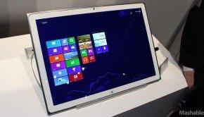 Panasonic's 20-Inch 4K Tablet