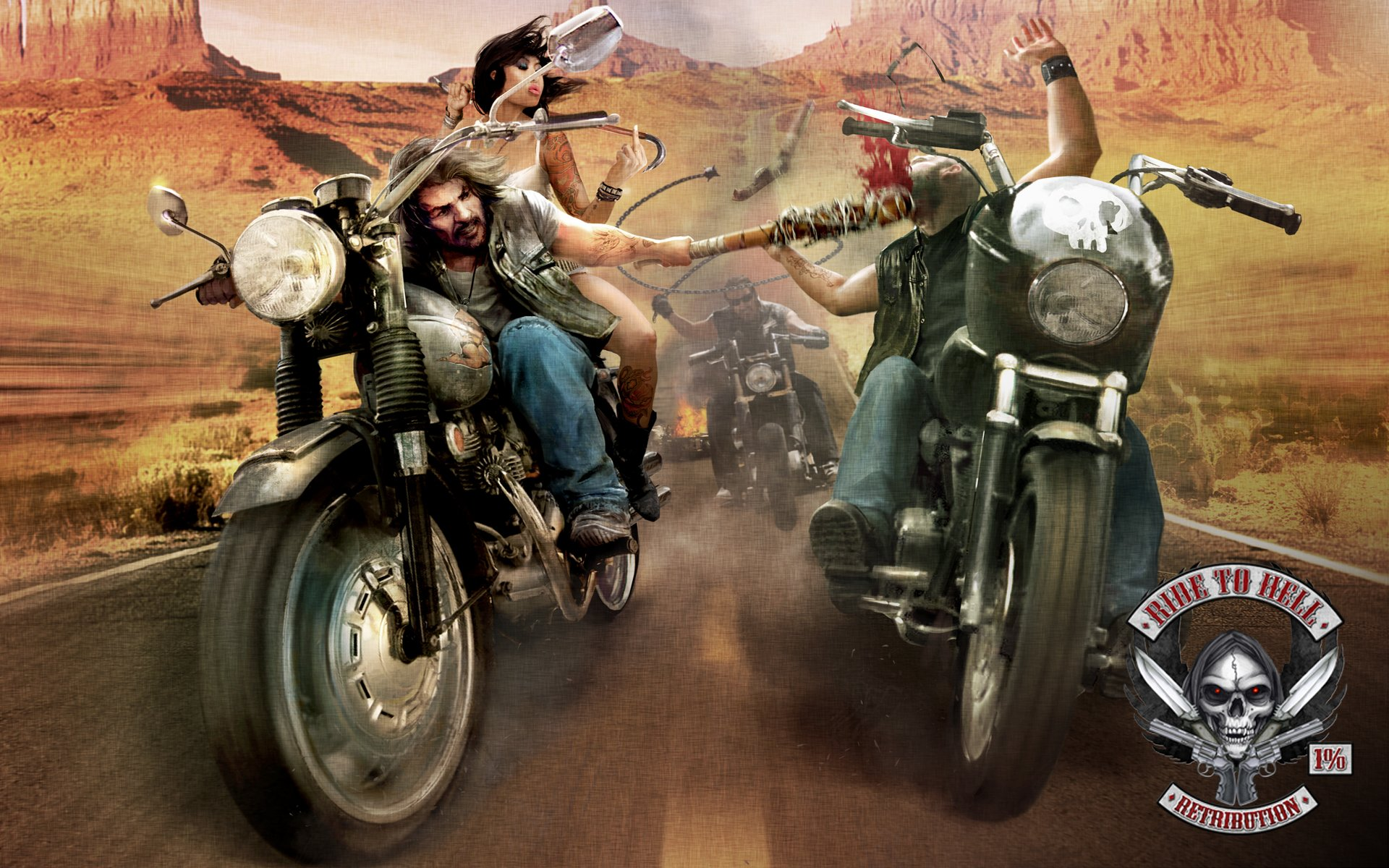 Ride To Hell Retribution Wallpapers_bikes