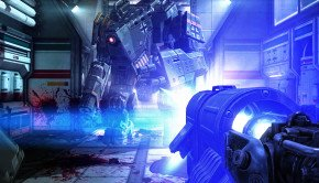 New screens and concept art of Wolfenstein The New Order massive robot