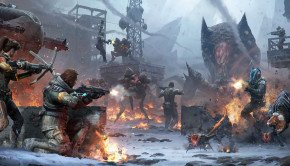 Lost Planet 3 Screenshots illustrate combat on the Frozen Planet