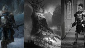 New Dark Souls II Concept Artwork illustrates Giant Spiders, Dragons, Stranded ships and more