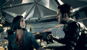 Time freezes in this in-engine footage of Quantum Break from E3