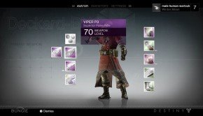 Destiny HD Full E3 Gameplay Footage Inventory Viper P3 Pulse Rifle