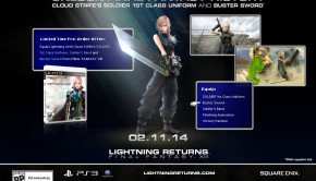 Lightning Returns Final Fantasy XIII pre-order bonuses detailed, trailer and images released