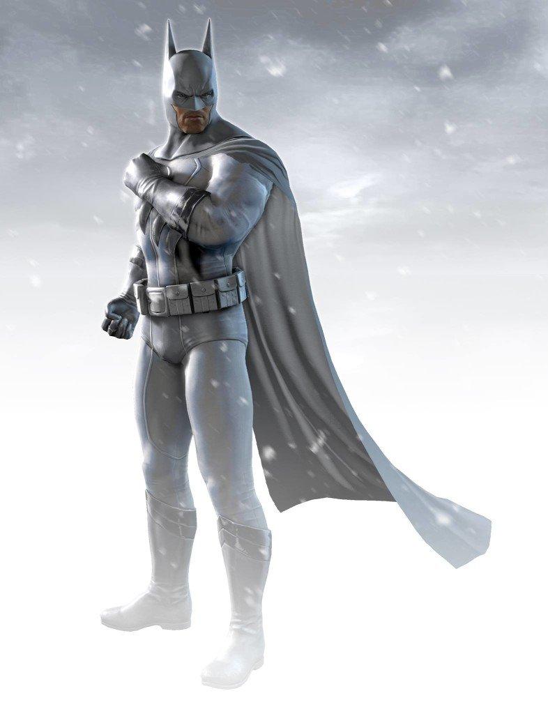 Batman: Arkham Origins Brightest Day Batman Skin Illustrated