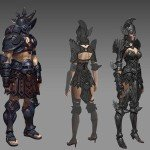 Armour Concept Art for Multiplatform Action-RPG Mother of Myth