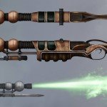 The Incredible Adventure of Van Helsing II Concept Art Show Off Swords and Rifles  (2)