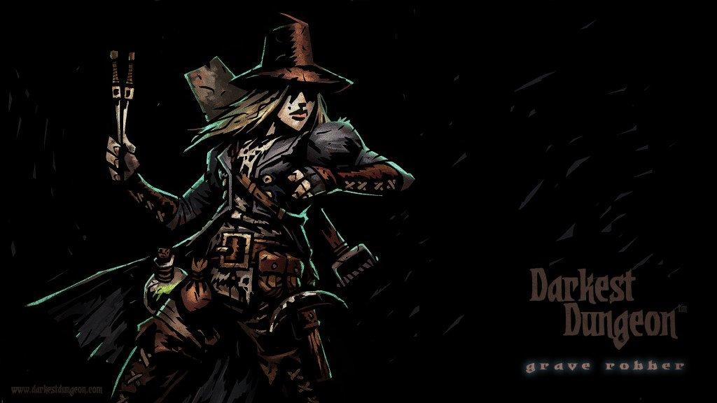 Meet Darkest Dungeon's Grave Robber