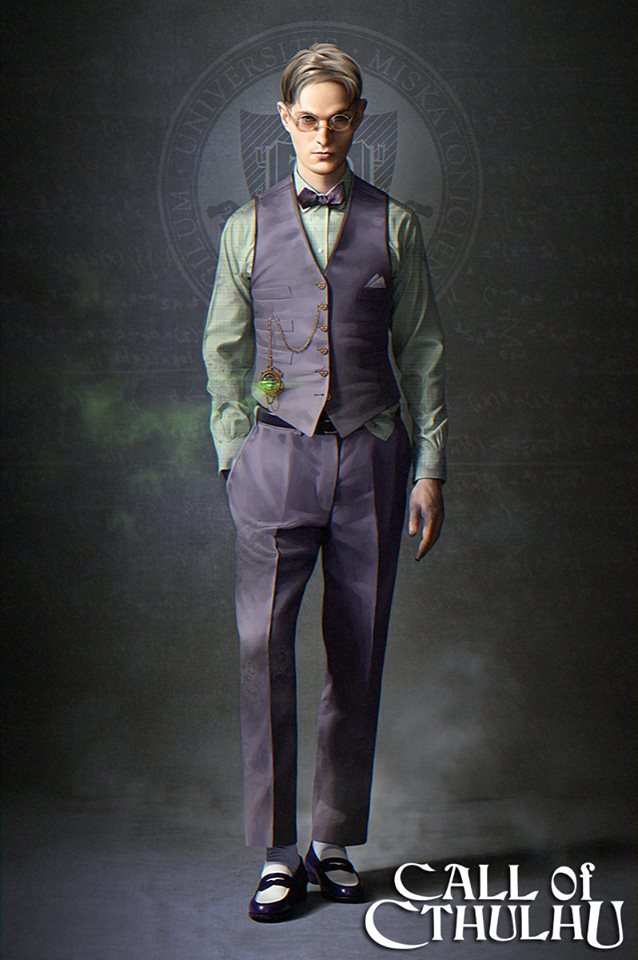 Next-Gen Call of Cthulhu game – Two New Images Jeremiah Scudder