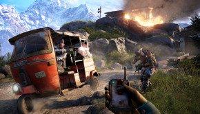 Far Cry 4 screenshots and concept art showcase Hurk, Pagan Min and tuk-tuks in Kyrat
