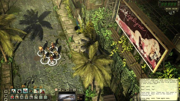 New Wasteland 2 screenshot depicts the Billboard Queen