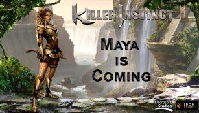 Dual dagger-wielding Maya is in Killer Instinct Season Two