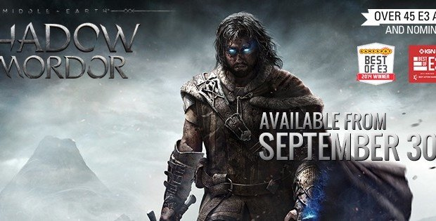 Middle-earth: Shadow of Mordor releases on 30 September