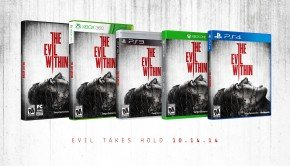 The Evil Within arrives a week early on 14 October; Box Art here