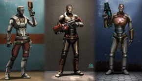 Unreal Tournament – Weapons, Characters and Environment Concept Art