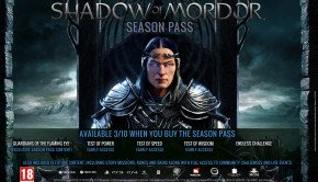 Middle-earth Shadow of Mordor season pass details