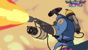 Pyro, Zoey & Saxton Hale Join Super Time Force Ultra (1)