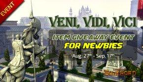 Take Legend of Silkroad item giveaway packs before it's gone