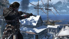 20 minutes of game new gameplay footage of Assassin's Creed Rogue shows naval warfare, new side missions and more