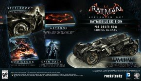 Batman Arkham Knight slipped into June 2015, with two Limited Editions    (2)