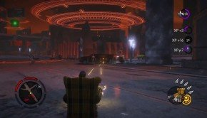 Saints Row: Gat Out of Hell five-minute gameplay walkthrough video stars Armchair-a-geddon