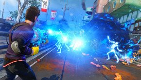 Sunset Overdrive Screenshots pack in explosions, interesting characters