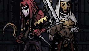Darkest Dungeon artwork stars Jester and the Leper