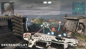 Massive Spaceships battle it out in Dreadnought pre-alpha commented gameplay video