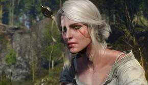 Ciri, The Ashen-Haired Girl is the Second playable character in The Witcher 3 Wild Hunt  (11)