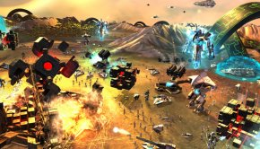 Debut gameplay footage of new sci-fi RTS 'Etherium'