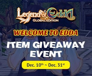 JC Planet announces Legend of Edda Global Edition expansion pack and Xmas-themed item give away events