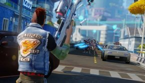 Sunset Overdrive: Dawn of the Rise of the Fallen Machines DLC trailer