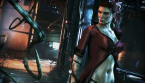 The Caped-Crusader takes Poison Ivy for a spin in this Batman Arkham Knight video (5)