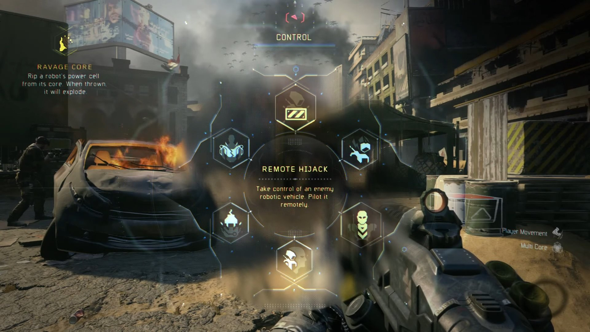 Call Of Duty Black Ops 3 Chaos Cybercore Abilities Deteriorates