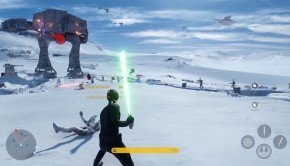 E3 2015: Darth Vader and Luke duel in Star Wars Battlefront: Multiplayer Gameplay footage