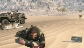 Metal Gear Solid V The Phantom Pain 40-minute gameplay video