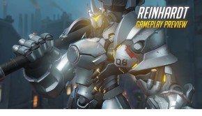 Overwatch video showcases Reinhardt