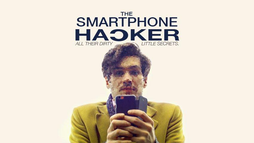 Poster for short film The Smartphone Hacker
