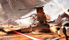 Star Wars: Battlefront – The Battle of Jakku DLC unveiled in concept art