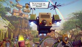 Plants vs. Zombies: Garden Warfare 2 – Backyard Battleground gameplay footage