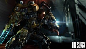 The Surge first screenshots shows the hero and a giant mechanical spider (2)