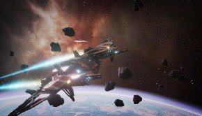Artwork and screenshots accompany VR Launch Trailer for EVE: Valkyrie