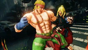 Street Fighter V: Screenshots, release trailer of Alex